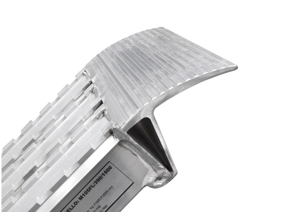 alumīnija rampas